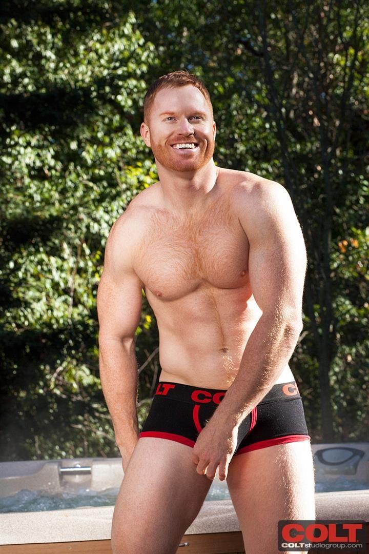 Hairy redhead movie tube