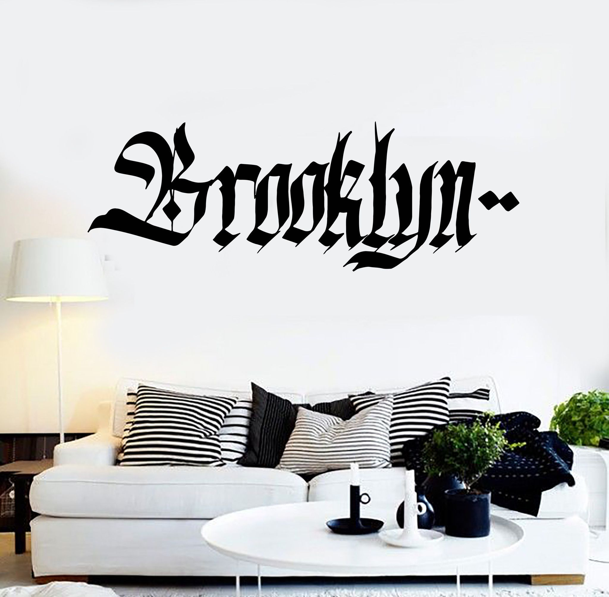 Vinyl wall decal brooklyn graffiti word teen room new york vinyl wall decal brooklyn graffiti word teen room new york stickers ig4345 amipublicfo Gallery