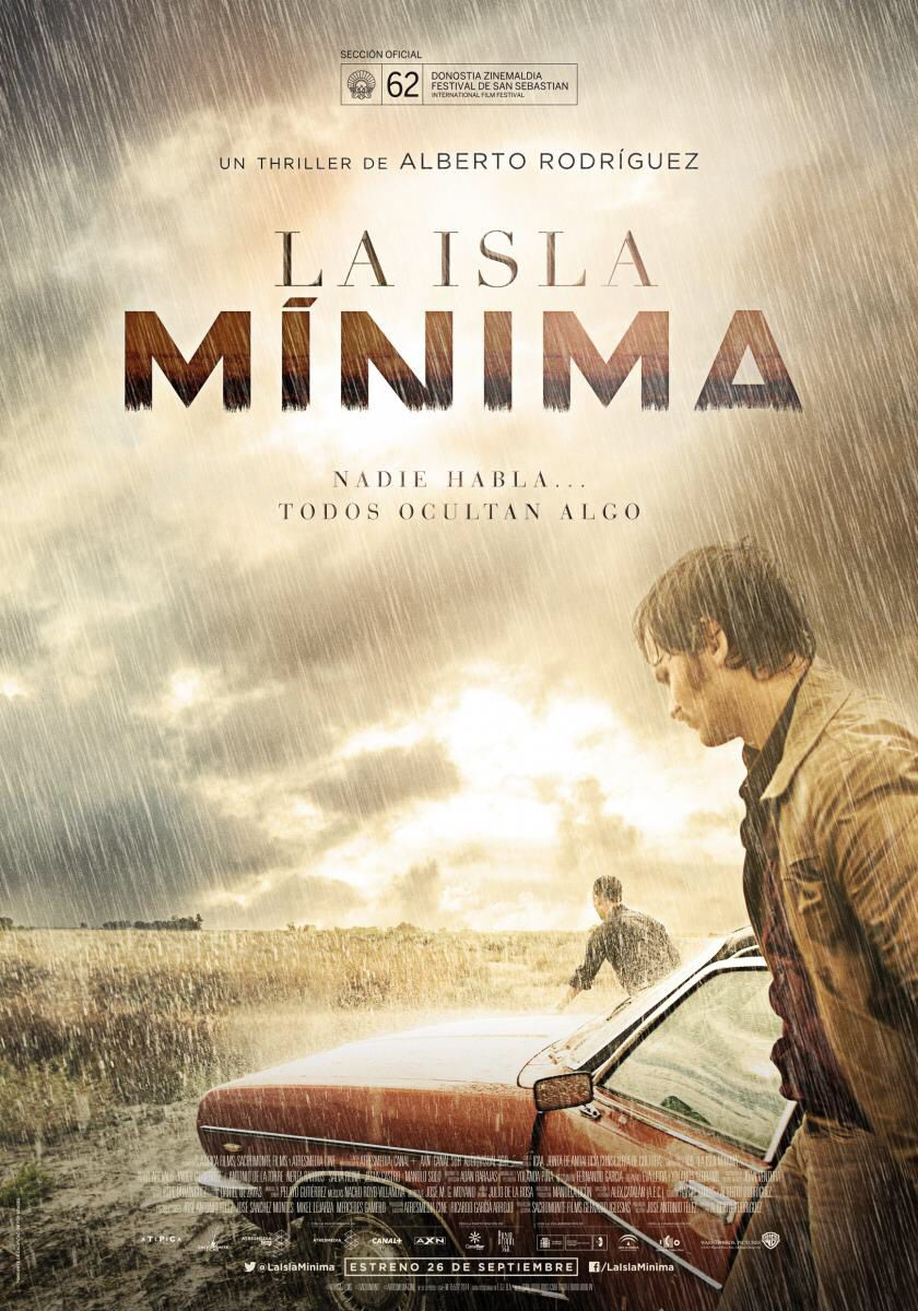 """""""La isla mínima"""" de Alberto Rodriguez (2014) con Raúl Arévalo, Javier Gutierrez y Antonio de la Torre"""