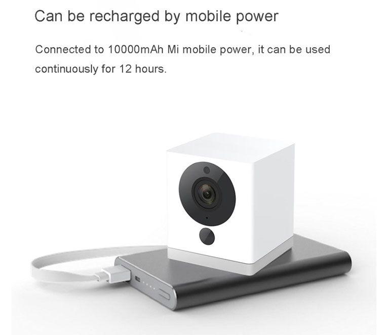 Xiaomi Mijia Xiaofang 1080p Portable Smart Ip Camera Night Vision