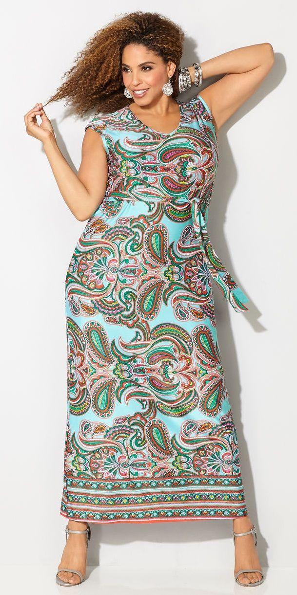 Plus Size Maxi Dress Pinteres
