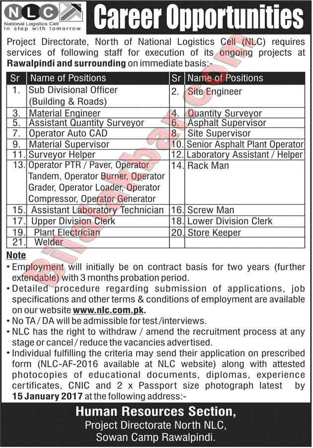 Jobs In Nlc Download Application Form Last Date Is 15 January 2017 With Images Last Date Career Opportunities Logistics
