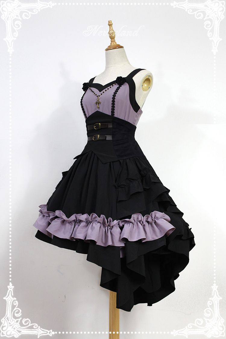 6565fc78972 Neverland Lolita -Blazing Angels- Lolita Corset Jumper Dress Gothic Lolita  Dress
