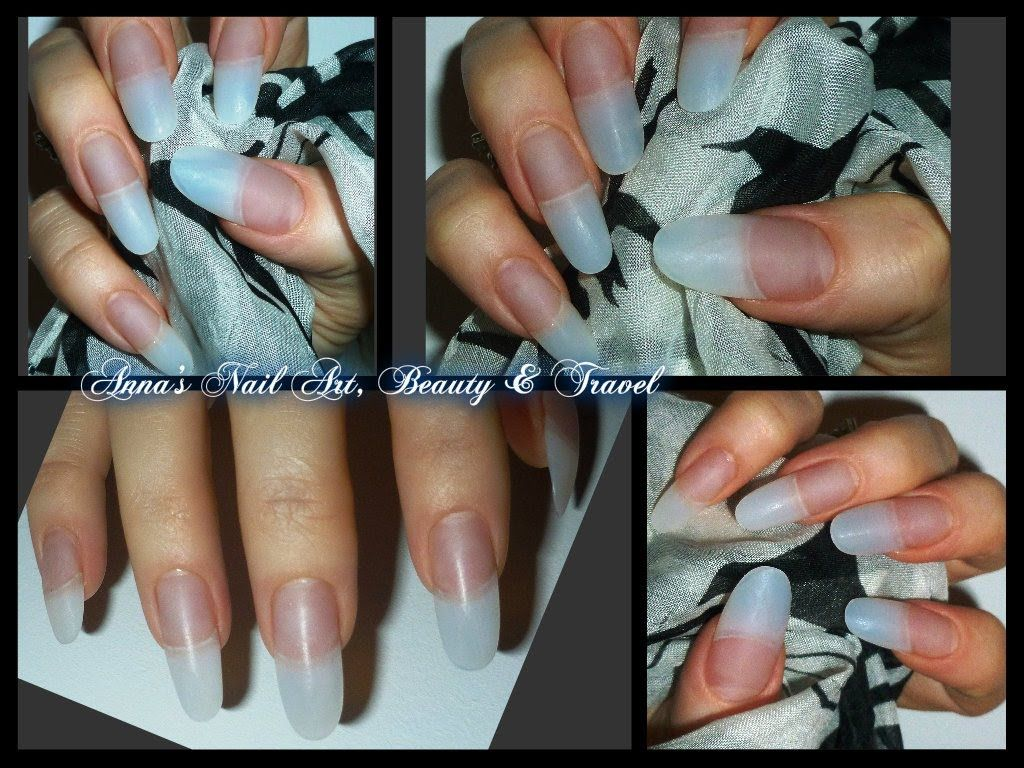 How to apply Acrylic to Almond-Oval-Stiletto Nails | Nails & Toes ...