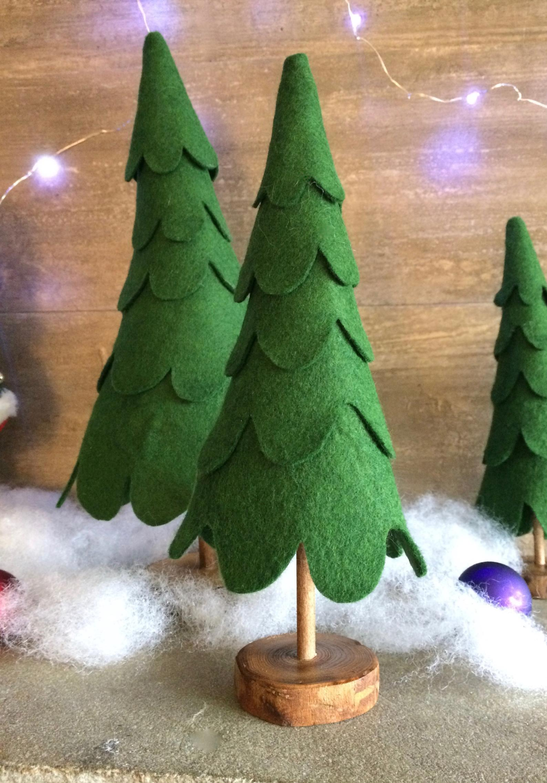 19++ Felt stacked christmas tree trends