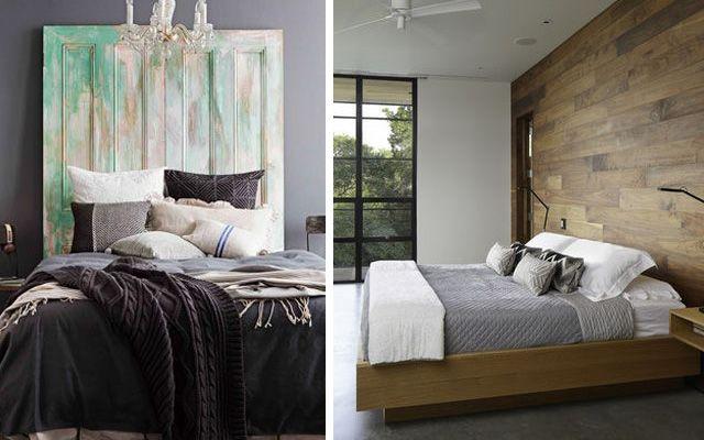 | Decoración de dormitorios con cabeceros de madera