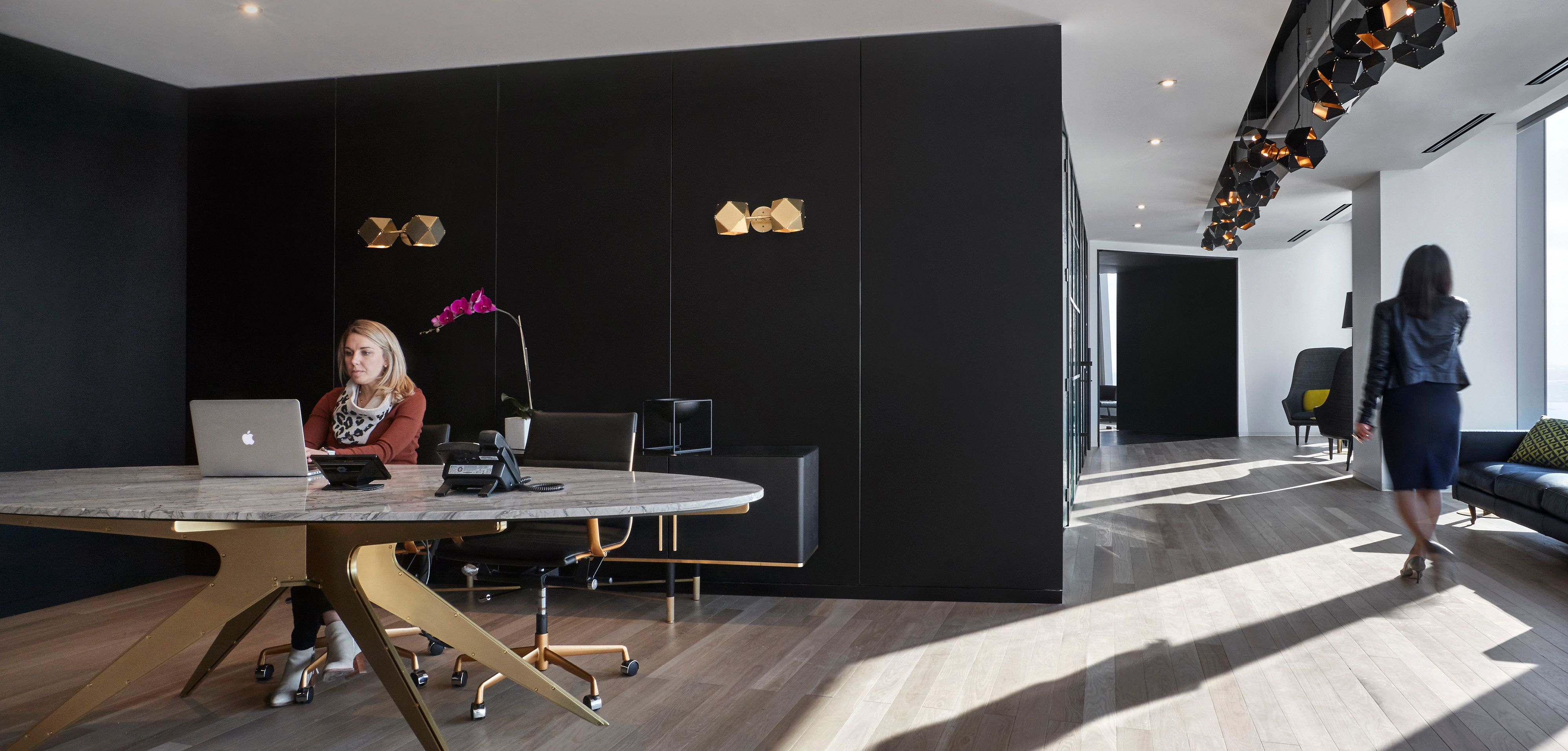 Custer Technology installed and engineered a wide variety of technology in the Steelcase NeoCon showroom Custer Projects Education