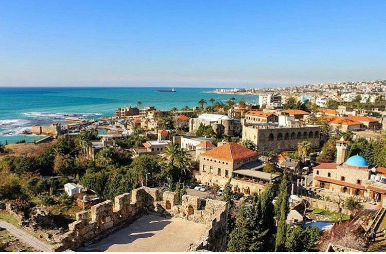 The Historical City Of Byblos Lebanon Libanon