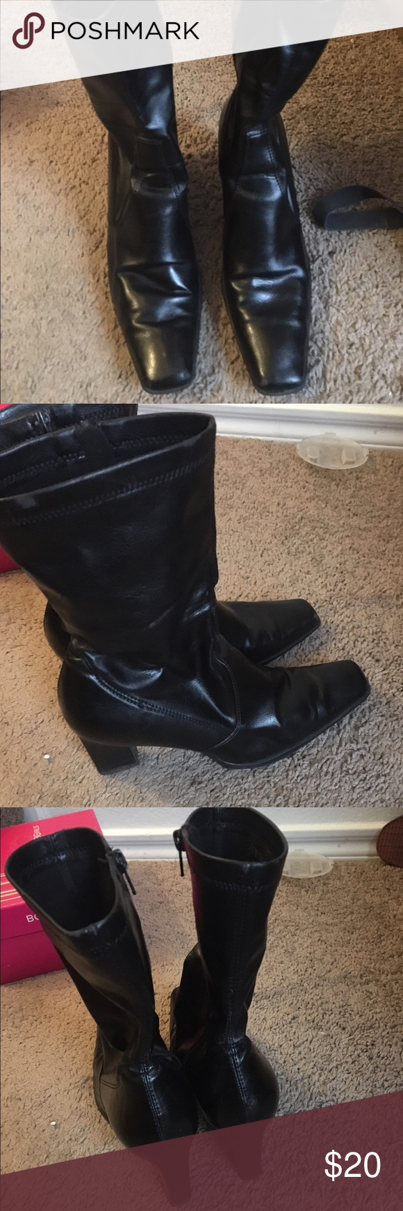 Franco Sarto boots zise 6.5 In good used condition Franco Sarto boots in size 6.5 very comfortable Franco Sarto Shoes Heeled Boots