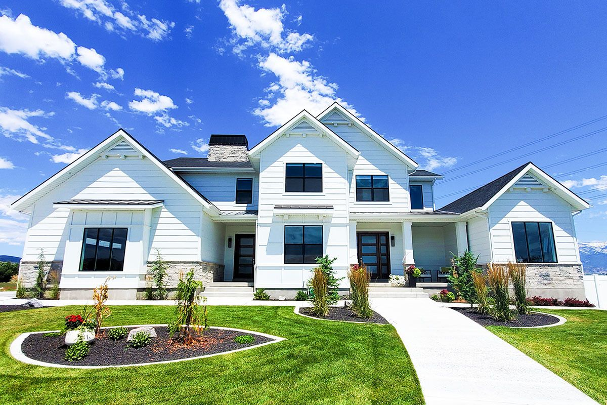 Plan 910073whd Exclusive Modern Farmhouse Plan With