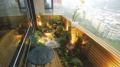 Tiny zen balcony garden spaces balcony balcony