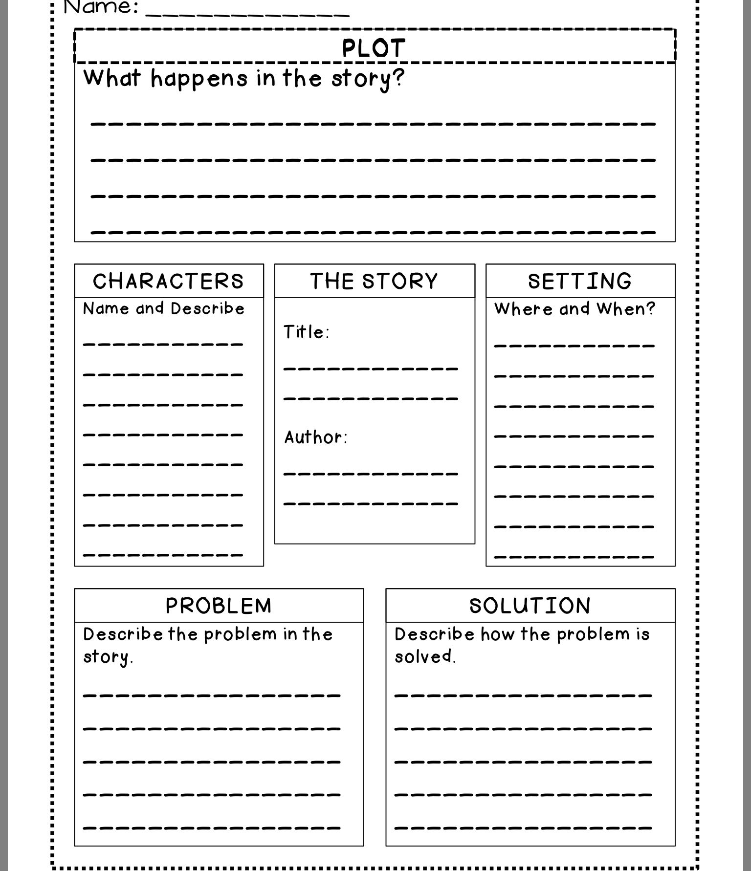 Pin By Lisa Greco Recek On School Story Elements Worksheet Story Elements Thinking Map