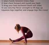 Yoga Poses  Advanced yoga poses #yoga #yogapose #exercisefitness #fitness #exercise    This image ha...