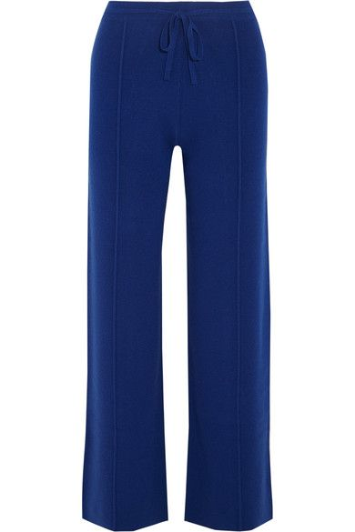 Cashmere Track Pants - Royal blue Sonia Rykiel Deals Cheap Online Clearance Ebay orNEl