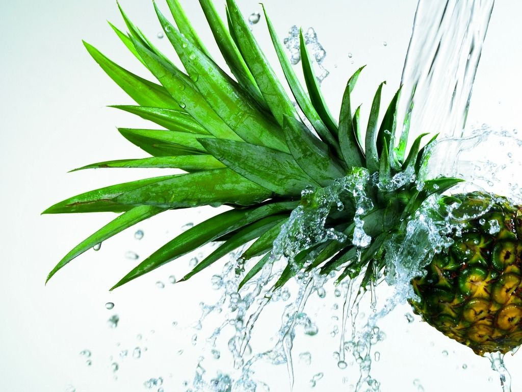 Fruit splash classic - Fresh Pineapple Splash