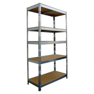 Regal Metalowy Zatrzaskowy Metalkas Snap 10 100 X 45 X 180 Cm Home Decor Decor Shelves