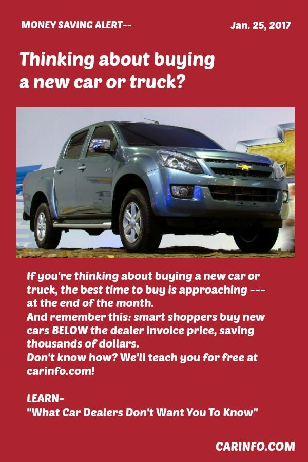 if you re thinking about buying a new car or truck the best time to rh pinterest com NADA Car Price Guide NADA Car Price Guide
