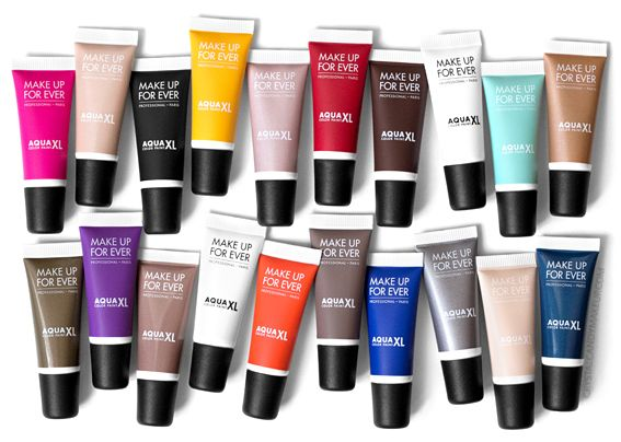 Make Up For Ever Mufe Aqua Xl Color Paints Waterproof Cream Eyeshadows Review Photos Swatches Make Up For Ever Cream Eyeshadow Makeup Forever