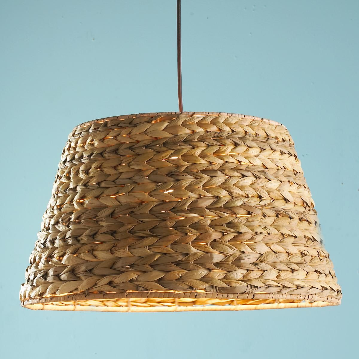 Seagrass pendant light buy from shades of light or maybe i could braided seagrass shade pendant light shades of light mozeypictures Gallery