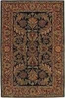 This collection features a series of traditional Persian designs reflecting the colors and patterns of our time. Hand-tufted in India, each rug is produced from the finest New Zealand wool. The unique luster and antique finish on these rugs is acheived through special herbal washing techniques. Sample rugs are non-returnable. However, if you purchase a sample and then subsequently buy a 5' x 8' or larger rug from the same collection, we will credit you for the full purchase price of the…