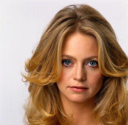 Goldie Hawn. Love the hair