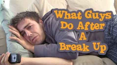 What Guys Do After Break Up | How Guys Deal With Breakups
