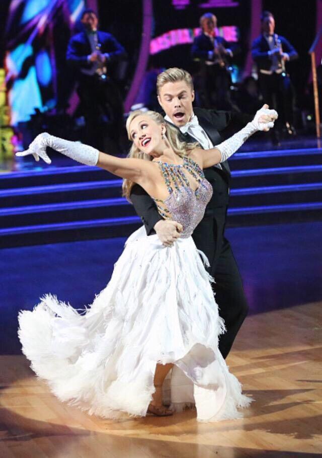 Derek & Nastia | week 1 Foxtrot #dancingwiththestars