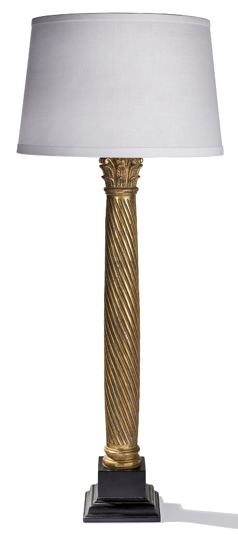 ebanista lighting. Thalis Table Lamp By Ebanista @ebanistacollect. Hand-carved Spiral Fluted Column Lighting