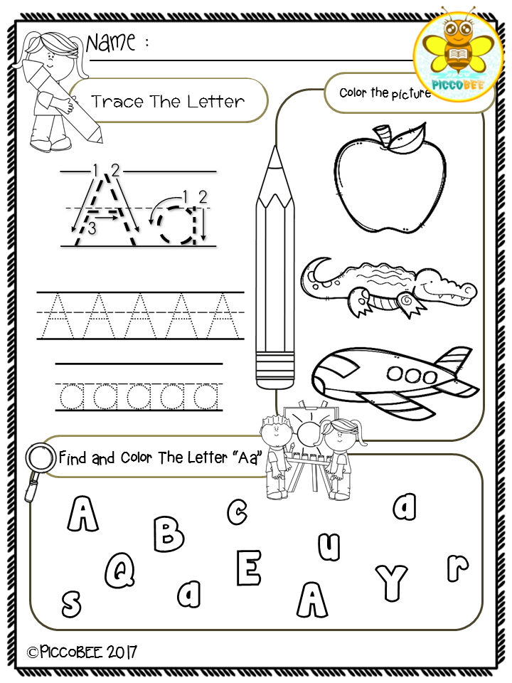Free, Freebies, Pre-K, Kindergarten, First Grade, Pre