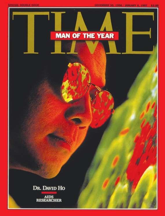 1996: Dr. David Ho - Time