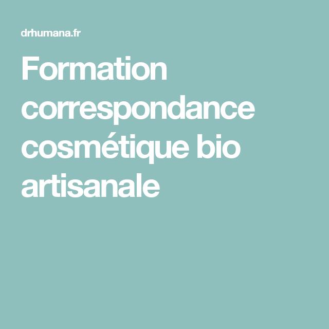 c8c31236b48 Explore these ideas and more! Formation correspondance cosmétique bio  artisanale