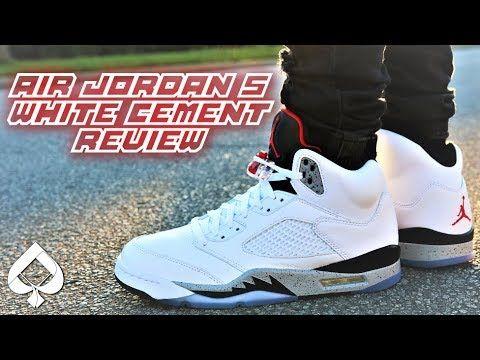 Air Jordan 5 WHITE CEMENT REVIEW