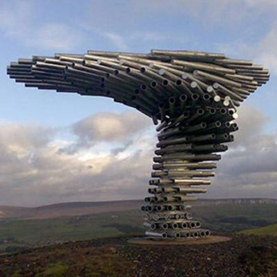 The Singing Ringing Tree The Weirdest Musical Instruments You Have Ever Seen Land Art Landart Musical