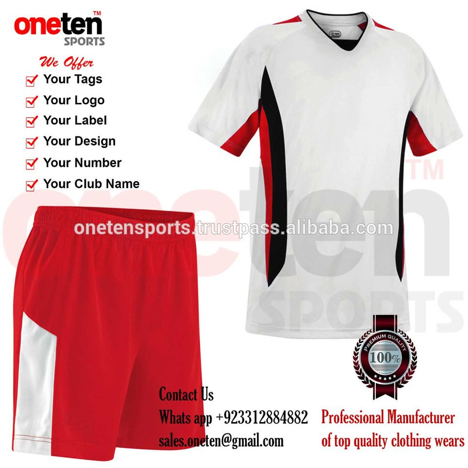 e5268747d factory cheap custom soccer uniform