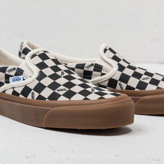 c9c0bf0faa Vans OG Slip-On 59 LX (Suede) Checkerboard  Light Gum za skvělou cenu 1 890  Kč koupíte na Footshop.cz