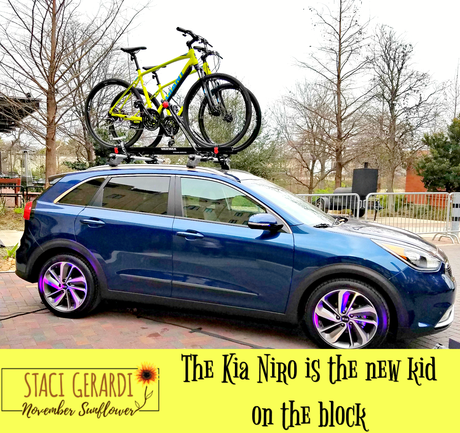 The Kia Niro Is The New Kid On The Block New Kids New Kids On The Block Kia