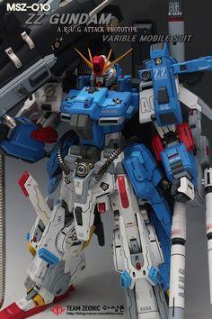 1/72 Full Armor ZZ Gundam - Customized Build