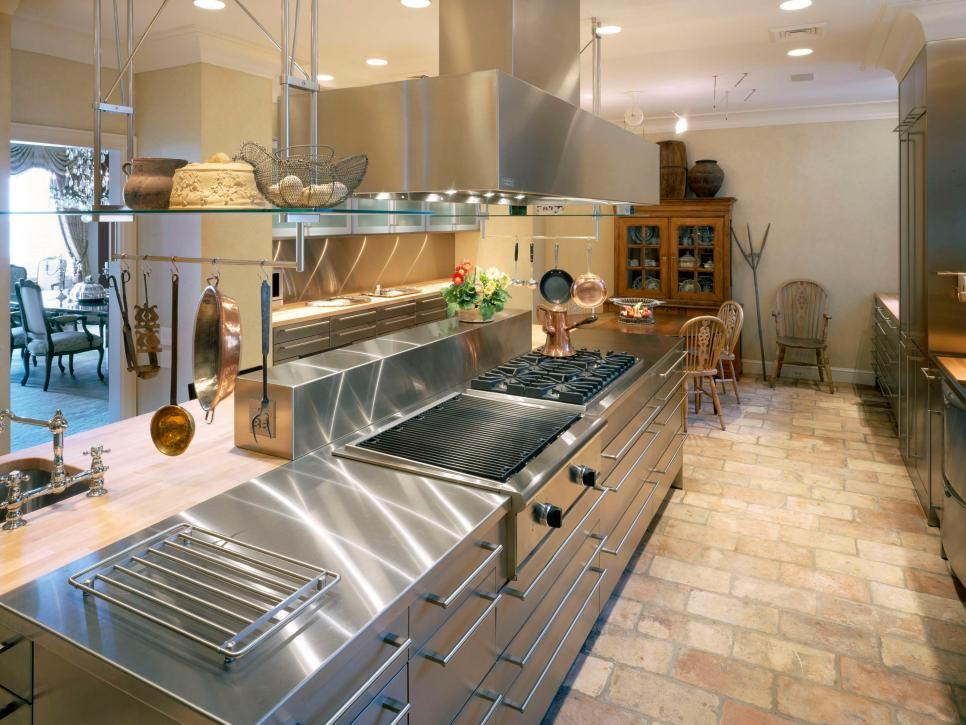 Chef's Kitchens  Hgtv Kitchens And Countertops Entrancing Chef Kitchen Design Design Inspiration