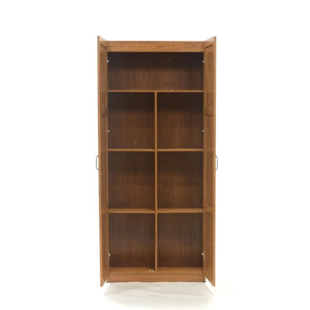 Sauder Woodworking Highland Oak Cabinet 419188 The Home Depot Sauder Woodworking Sauder Storage Cabinet Storage Cabinet Shelves