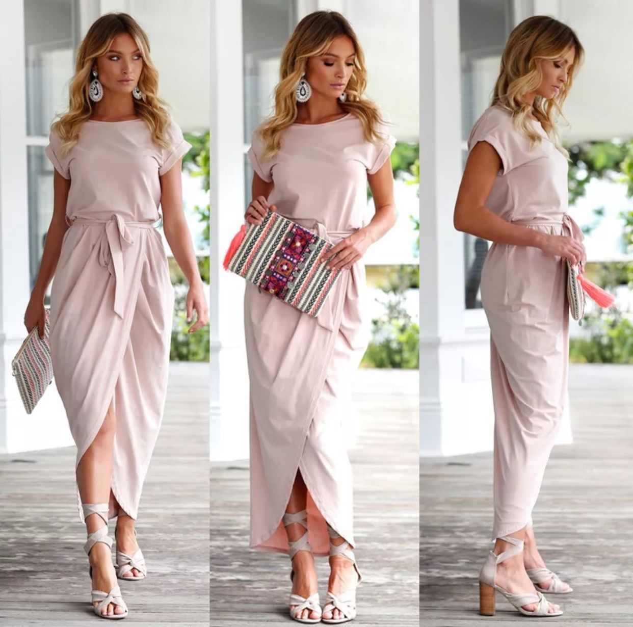 Cool awesome us womenus summer casual career maxi party wedding