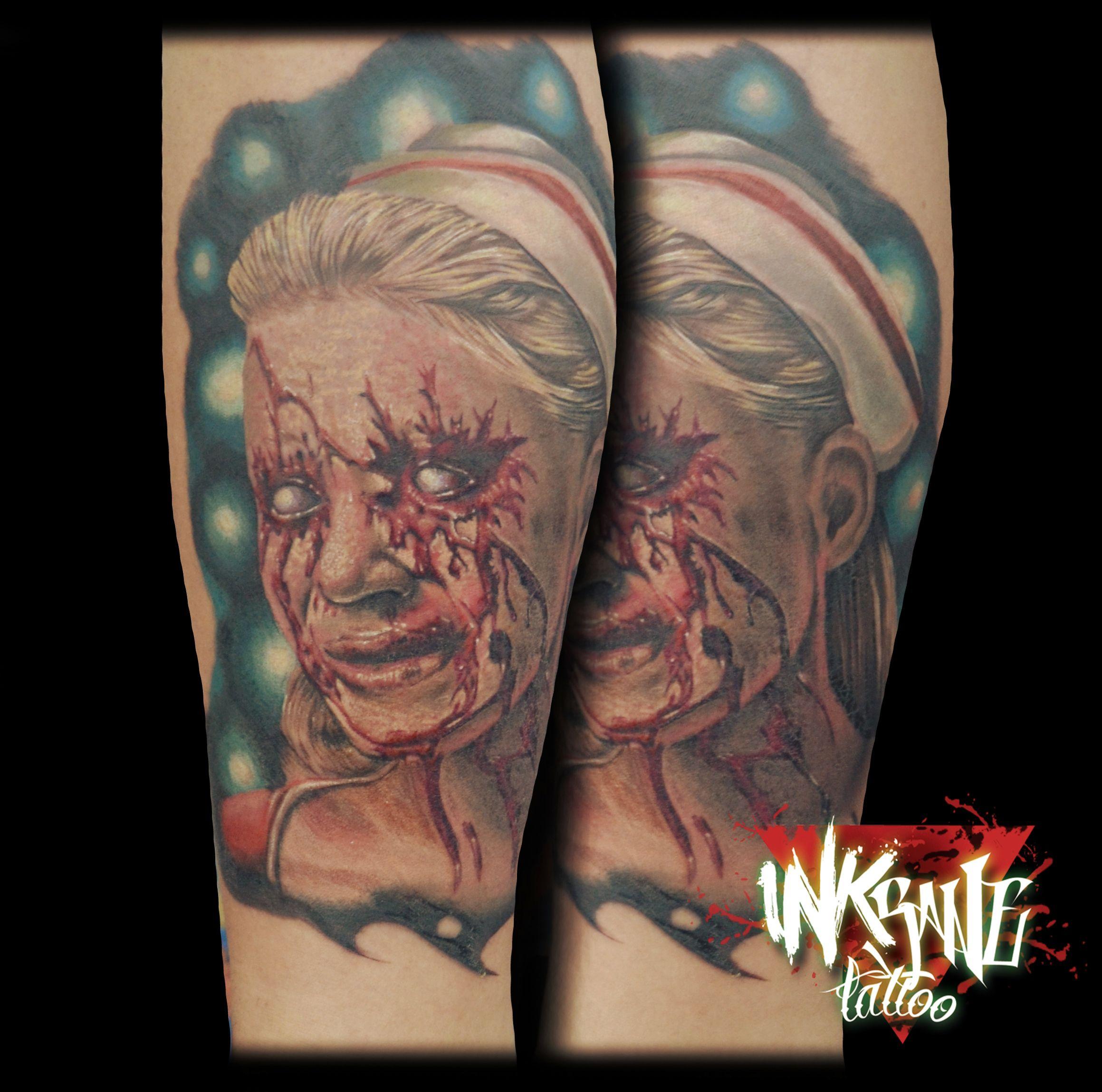 tatuaje realizado en la venezuela expo tattoo espero les guste