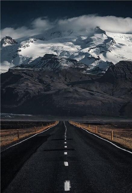 Photo of Modern Scenery Posters and Prints Nature Road Mountain Landscape Wall Art Canvas Painting for Living Room Dormitory Home Decor – 30x40cm no frame / I