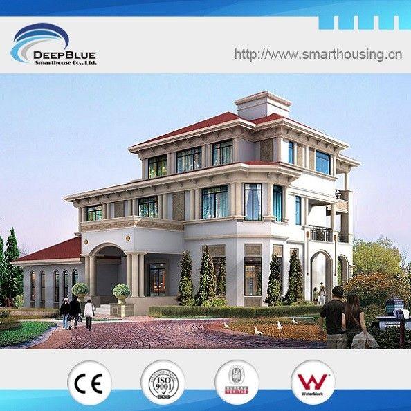 European style steel villa design