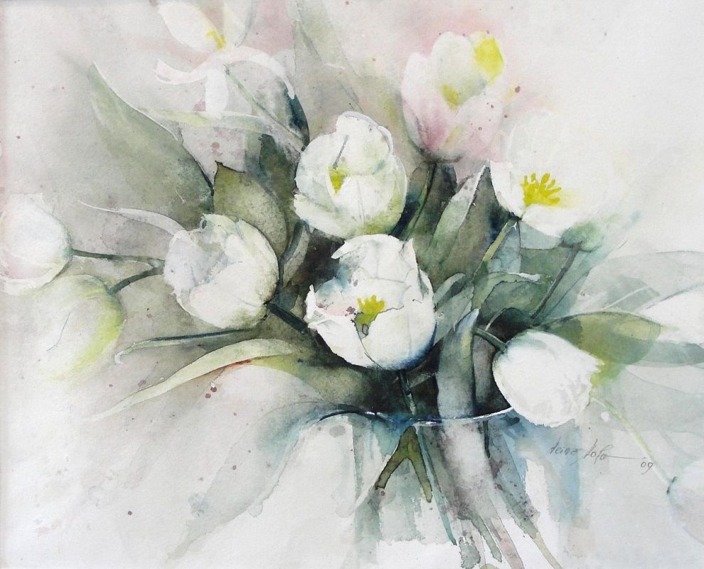 Hofer Badezimmerschrank ~ Heinz hofer heinz hofer pinterest watercolor art flowers and