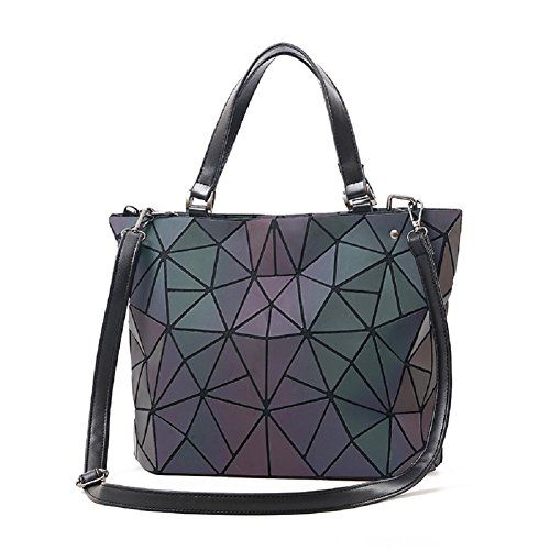 New Chenrry Geometric Backpack Luminous Backpacks Holographic Reflective Bag  Shard Lattice Luminous Rucksack Lingge online.   28.99  findanew Fashion is  a ... b3db4808ead10