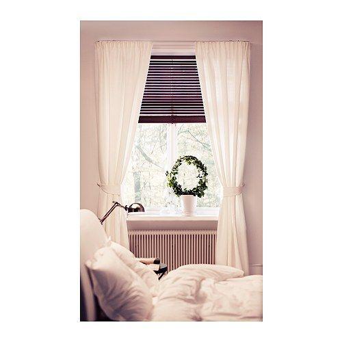 anita 2 gardinen raffhalter ikea schirmt sonnenlicht ab l sst aber licht durch wohnzimmer. Black Bedroom Furniture Sets. Home Design Ideas