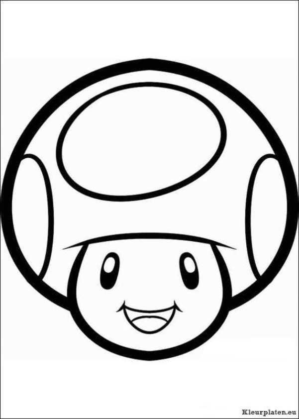 Super Mario Bros Kleurplaat 43900 Kleurplaat Mario Brothers Party