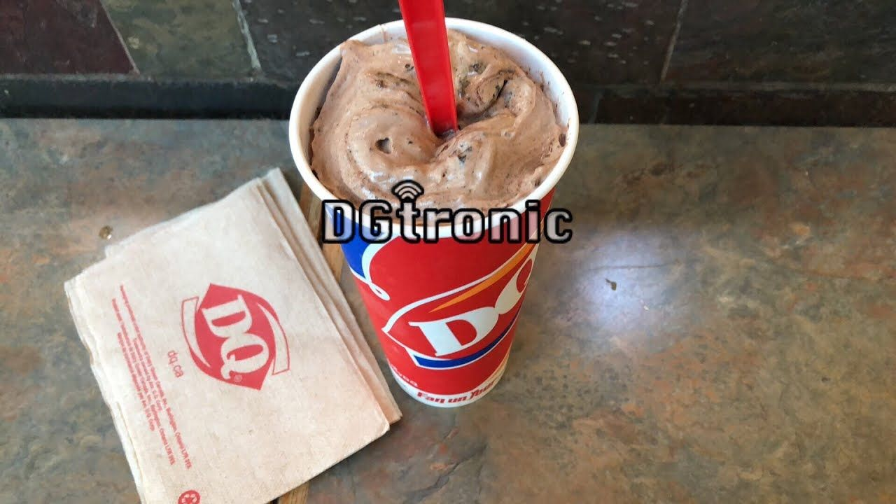 Dairy Queen Hot Cocoa Oreo Blizzard Review Video Oreo