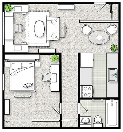Layout with Icovia Room Planner Room planner, Room