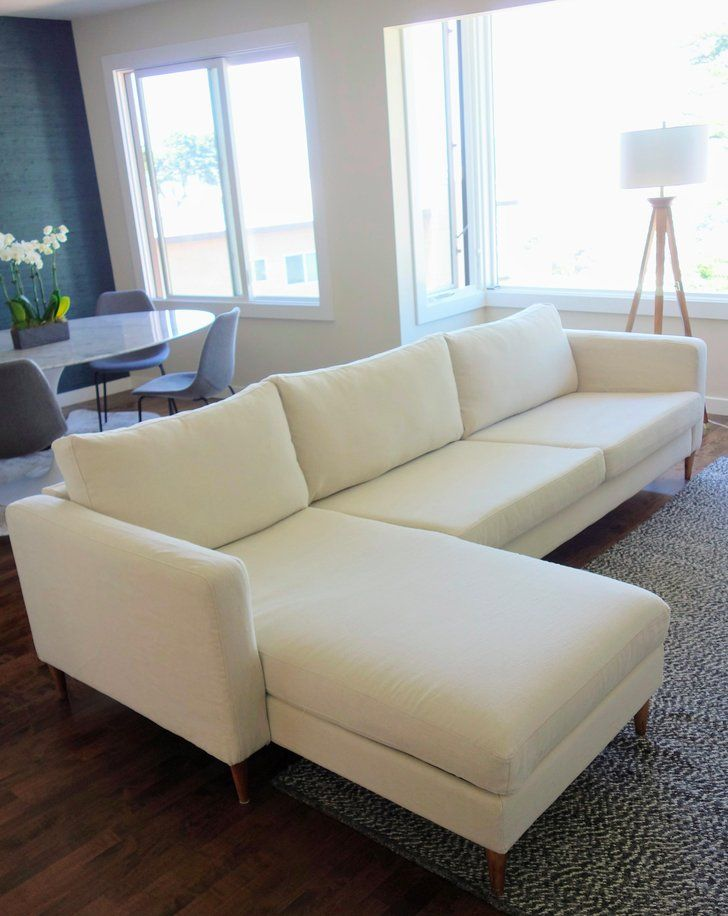 Designer couch  How I Turned My Ikea Couch Into a $10,000 Designer Sofa | Ikea ...